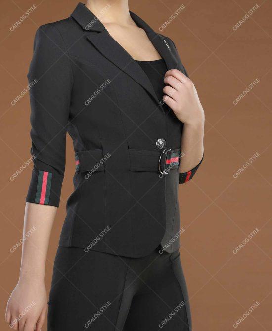 کت شلوار زنانه مجلسی کد 8001